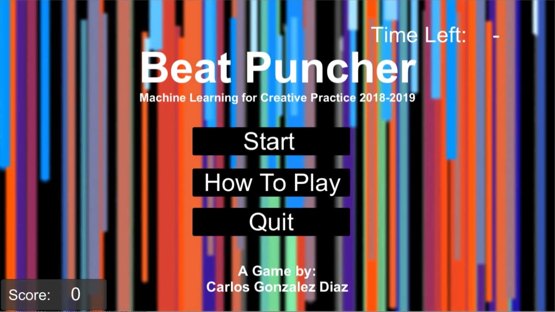 BeatPuncher_Game_01 - Carlos González Díaz
