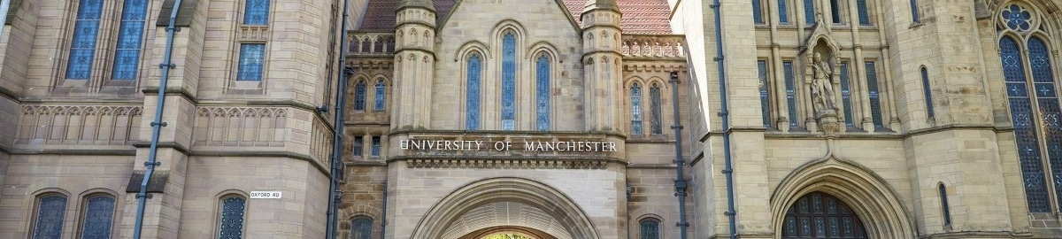 Front face of University of Manchester Building