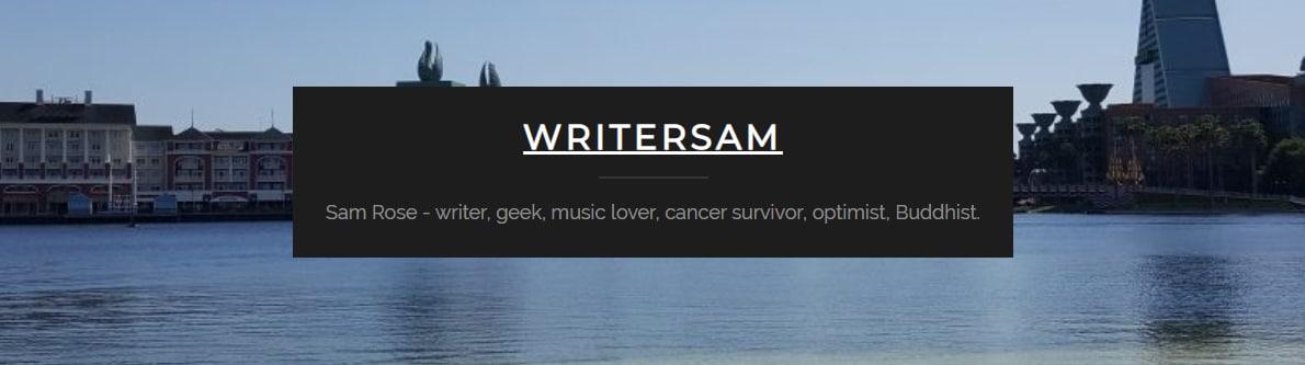 writersam.co.uk banner