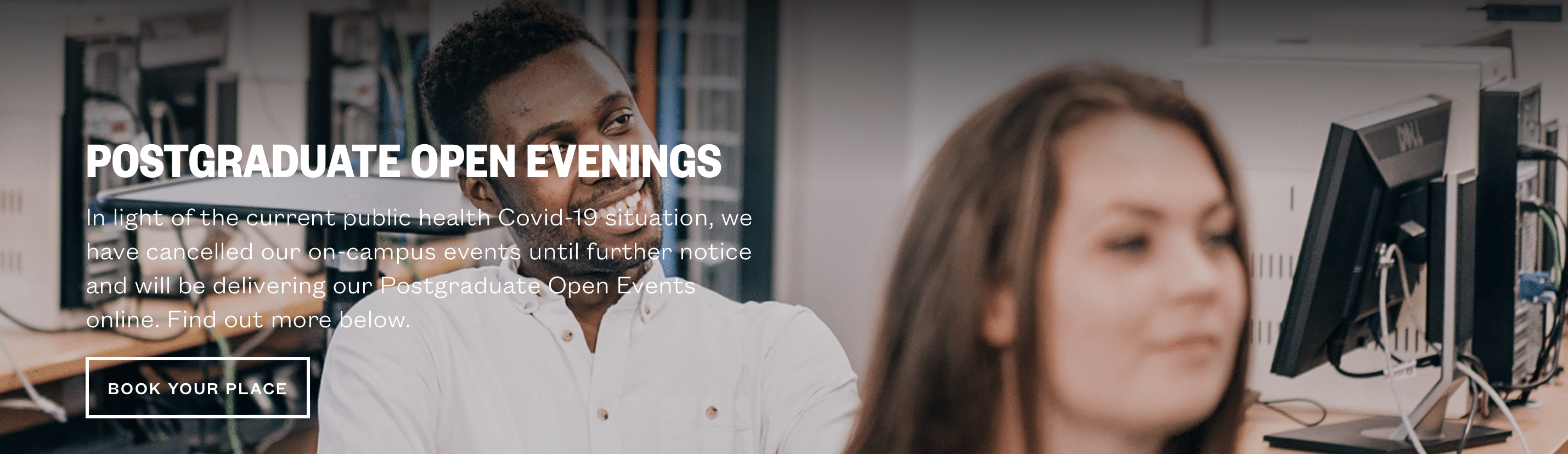 virtual postgraduate Open Evening